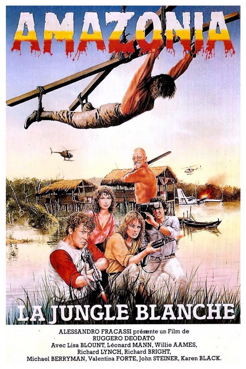 CANNIBAL HOLOCAUST Japanese Movie Poster - 1982 - Rudgero