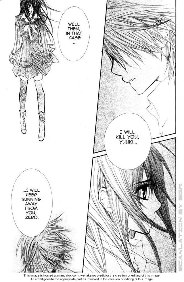 Vampire Knight Guilty Yuki And Zero